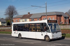 Diamond Bus KX11EES (Mike McNiven) Tags: rotala diamond bus northwest optare solo wythenshawe interchange hollyhedgeroad baguley reddish holdsworthsquare