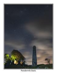 Powdermills04 (mdsphotoimages1) Tags: stars sky clouds color stacks ruins