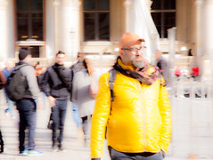 Abstract flow 6 Yellow (thierry_meunier) Tags: carroussel france louvre paris abstract colors creativity crowd effect femme flou flow homme lowkey man men mouvement people rue street streetphotos surexposition woman women