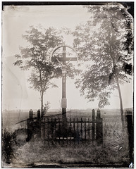Bugac Cross (Attila Pasek (Albums!)) Tags: bugac largeformat collodion cross 4x5 wetplatecollodion sinarf1
