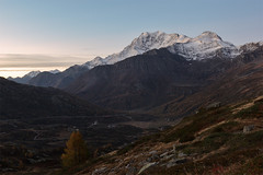 La tenue luce dell'alba (cesco.pb) Tags: simplonpass passodelsempione switzerland svizzera alps alpi fletschhorn canon canoneos60d tamronsp1750mmf28xrdiiivcld vallese montagna mountains