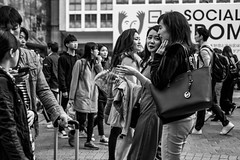 I'm On A New Liquid Diet. All Meals Are 80 Proof And Above. (burnt dirt) Tags: asian japan tokyo shibuya station streetphotography documentary candid portrait fujifilm xt1 bw blackandwhite laugh smile cute sexy latina young girl woman japanese korean thai dress skirt shorts jeans jacket leather pants boots heels stilettos bra stockings tights yogapants leggings couple lovers friends longhair shorthair ponytail cellphone glasses sunglasses blonde brunette redhead tattoo model train bus busstation metro city town downtown sidewalk pretty beautiful selfie fashion pregnant sweater people person costume cosplay boobs