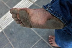 dirty city feet 149 (dirtyfeet6811) Tags: feet sole barefoot dirtyfeet dirtysole blacksole cityfeet