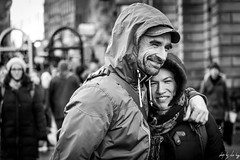 Love (Cycling-Road-Hog) Tags: beard blackwhite candid canoneos750d cap citylife colour couple efs55250mmf456isstm edinburgh edinburghstreetphotography fashion monochrome people places royalmile scarf scotland street streetphotography streetportrait style urban
