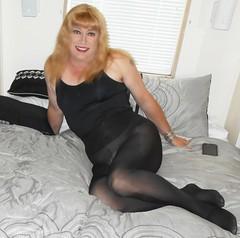 (DianeD2011) Tags: crossdresser cd crossdress crossdressing stockings tg tranny transvestite tgirl tgurl pantyhose