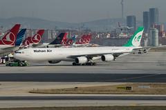 Mahan Air A340-600 EP-MMF (altinomh) Tags: mahan air a340600 epmmf airbus a340 istanbul international airport ataturk ist