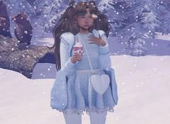 ♡ Catpuccino ♡ (Lili [My Fashionista Heart]) Tags: catwa maitreya noticemesantapai busan shinyshabby uber sanarae okkbye song moon sakura adored cazimi avoixs sorumin sntch snatch loki teabunny yokai cae mandala snowfalls cute kawaii winter