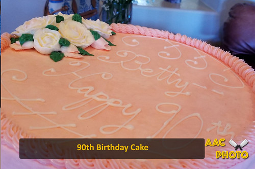 """90th Bday Cake • <a style=""""font-size:0.8em;"""" href=""""http://www.flickr.com/photos/159796538@N03/32658290277/"""" target=""""_blank"""">View on Flickr</a>"""