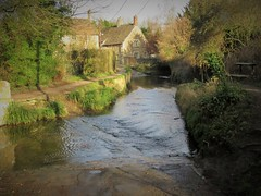 The ford at Lacock in Wiltshire (brianwaller703) Tags: the ford lacock wiltshire