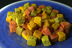 Rainbow Croutons (Tony Worrall) Tags: add tag ©2019tonyworrall images photos photograff things uk england food foodie grub eat eaten taste tasty cook cooked iatethis foodporn foodpictures picturesoffood dish dishes menu plate plated made ingrediants nice flavour foodophile x yummy make tasted meal nutritional freshtaste foodstuff cuisine nourishment nutriments provisions ration refreshment store sustenance fare foodstuffs meals snacks bites chow cookery diet eatable fodder ilobsterit instagram forsale sell buy cost stock rainbow croutons bread color colours fried
