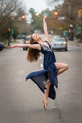 Dancing through Life (APGougePhotography) Tags: nikon nikond850 dancer ballet street woman young athletic d850 aiken downtown fun smile