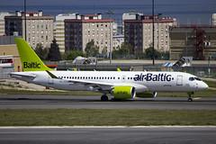YL-CSA | Air Baltic | Bombardier BD-500-1A11 CS300 | CN 55003 | Built 2016 | LIS/LPPT 01/05/2018 (Mick Planespotter) Tags: aircraft airport 2018 nik sharpenerpro3 ylcsa air baltic bombardier bd5001a11 cs300 55003 2016 lis lppt 01052018 a220 lisbon portela portugal delgado humberto humbertodelgado