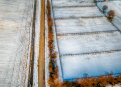Davidsonville Snow Fields 011819-028-Edit (richandalice) Tags: aerial annapolis davidsonville drone edgewater farm fields snow winter