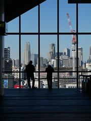 Tokyo Breaktime (H.H. Mahal Alysheba) Tags: tokyo shibuya snapshot building indoor cityscape olympus mzuiko 12100mmf40 lumix gx7mk3