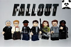 Mission: Impossible - Fallout (HaphazardPanda) Tags: lego figs fig figures figure minifigs minifig minifigures minifigure purist purists character characters films film movie movies tv hunley benji luther ethan hunt ilsa walker sloane mission impossible fallout mi6 henry cavill simon pegg rebecca ferguson tom cruise