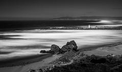 Ocean Entrance (Manuela Durson) Tags: bandon oregon coast coastal blackandwhite coquille river drama moody longexposure