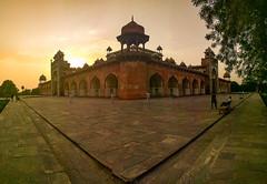 Tomb of Akbar | Sikandra (eyenamic) Tags: tomb mausoleum architecture evening sikandra agra india nikon d5100