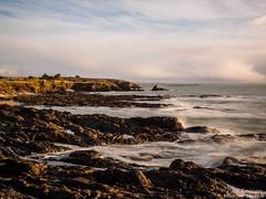 vue sur la falaise de Keric Bihan, depuis Porslous (Paul Kerrien) Tags: finistere bzh bretagne rivage poselongue