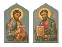 Св. апостолы Лука и Марк
