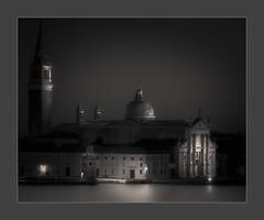 La Notte Di Palladio (W.Utsch) Tags: night nacht venedig palladio venice venezia notte blackandwhite schwarzweiss bnw bw zeiss sony church santamariamaggiore