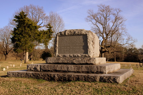 Confederate Cemetery Monument at the Hermitage