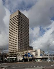 Rotterdam - Hofplein (Grotevriendelijkereus) Tags: rotterdam zuid holland netherlands nederland wederopbouw high rise hoogbouw office concrete modernism modernisme beton tower gebouw building architecture architectuur