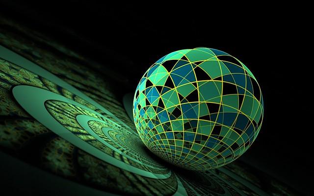 Обои шар, стекло, поверхность, фон картинки на рабочий стол, фото скачать бесплатно