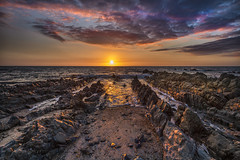 Epic (Through Bri`s Lens) Tags: devon northdevon croydebay downendpoint epic sunset rocks point beach lowtide clouds sky canon5dmk3 canon1635f4 brianspicer leereversegrad