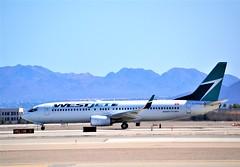 Westjet 737 (Gerry Rudman) Tags: westjet boeing 7378ctwl cfwse las vegas mccarran