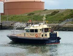 Svitzer Conda. Blyth 070611 (silvermop) Tags: ship boats ships sea pilotvessel workboats port river blyth svitzerconda