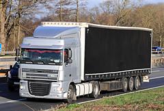 Jan 09 2019 m4 EWI CT65 (PL) (jon L1049H) Tags: trucks m4 daf