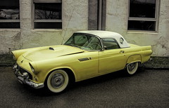 Ford Thunderbird (olds.wolfram) Tags: ford thunderbird car auto oldtimer olds1 coche voiture gelb 1025fav