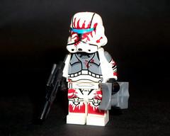 Stormtrooper Commando Sev (OB1 KnoB) Tags: lego star wars minifigure custom bootleg sev clone stormtrooper commando delta squad republic empire
