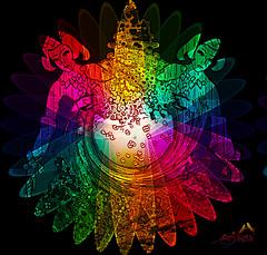 Rainbow fantasy (SØS: Thank you for all faves + visits) Tags: color colorful digitalart digitalartwork art kunstnerisk manipulation solveigøsterøschrøder artistic girls lady rainbow round 100views 300views 400views 500views 600views