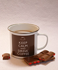 2019 Sydney: Keep Calm and Drink Coffee (dominotic) Tags: 2019 food chocolate coffee keepcalmanddrinkcoffee jaffastuddedchocolate foodphotography yᑌᗰᗰy coffeeobsession sydney australia
