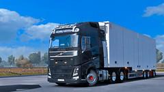 Volvo from Estonia (black_moloko) Tags: volvo holland ekeri ets2 eurotrucksimulator2