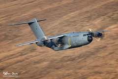 RAF A400M Atlas ZM419 low level in Northern England (NDSD) Tags: yorkshire dales north northern low level airbus a400 cumbria flying jet raf lake district transport plane aircraft aviation