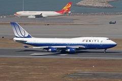 N127UA, Boeing 747-400 United Airlines, Hong Kong (ColinParker777) Tags: 127ua b747 b744 b747400 747400 747422 28813 1221 airliner aircraft airplane plane spotting spotters travel takeoff runway fly flying flight ual ua united airlines airways air hkg vhhh hong kong chek lap kok international airport hksar china canon 7d 100400 l lens zoom telephoto pro