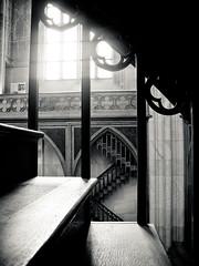 20080315-386 (sulamith.sallmann) Tags: ausschnitt berlin berlinmitte bw detail deutschland europa friedrichswerderschekirche germany mitte stairs steps stufe stufen sw treppe deu sulamithsallmann