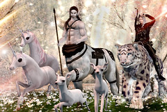 Keeper of the Forest (Varosh Santanamiguel) Tags: jinx fantasy medievalfantasy hunt gift halfdeer unicorn centaur leopard snowleopard animals fairy weloveroleplay we3rp weloverp roleplay avatar secondlife secondnature landscape photographer soul forest keeper wh waterhorse wlrp event eventexclusive new newrelease animal 2ndlife 3rdlife art oameo fae riding tlg thelookingglass fawn spring pet pets signature signaturegianni nomatch