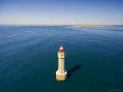 Calme plat au phare de la Jument (cedric.cain29) Tags: cedriccaïn ouessant îledouessant iroise bretagne finistère phare lighthouse pharedelajument lajument lumièresdouessant paysages bzh drone