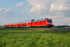 BE 245 002 DB REGIO - BUCHLOE (Giovanni Grasso 71) Tags: be 245 002 db regio buchloe nikon d610 giovanni grasso traxx diesel