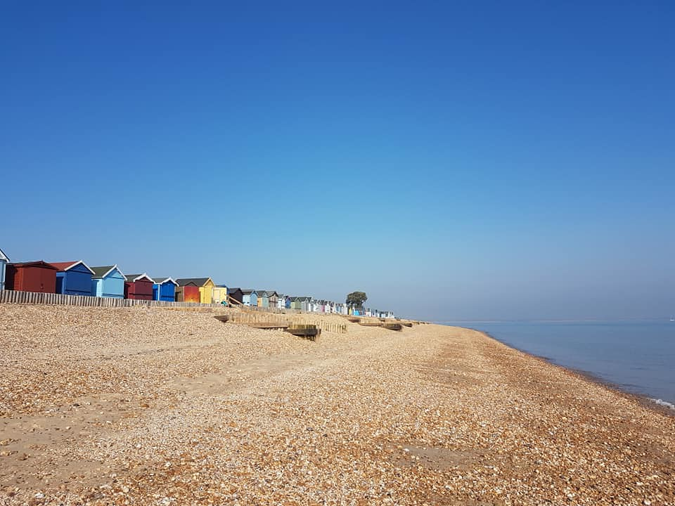 Beach at Calshot, Hampshire 4