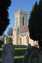 St Matthew's Church, Salford Priors (Roger Wasley) Tags: st matthews church salfordpriors saint matthew anglican parish warwickshire norman conquest domesdaybook history historic architecture holy building
