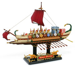 "LEGO "" ROMAN WARSHIP "" (gkdldis1201) Tags: lego moc diorama minifigure minifigures minifig minifigs mini figure creation custom romanwarship romanbattleship rome warship battleship ship war military soldier warrior slave"