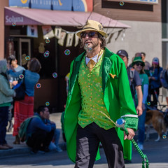 St Patricks Parade SF 2019: The one who completes the process, the other half stamp is similar to it (bhautik_joshi) Tags: st patricks day pats parade sanfrancisco sf sfist california bayarea civic center unitedstatesofamerica us