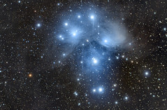 Pleiades - M45 (cfaobam) Tags: skywatcher pixinsight astronomie deepsky goto deutschland germany astrophotography astrophoto astrofoto bayern astrofotografie cfaobam astronomy telescope teleskop celestron sevensisters pleiades m45 messier45 baader horse nebula pferdekopfnebel esprit80 ed80 zwoasi asi183