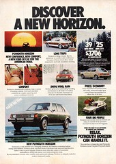 1978 Plymouth Horizon 5 Door Hatchback Chrysler Corporation USA Original Magazine Advertisement (Darren Marlow) Tags: 1 7 8 9 19 78 1978 p plymouth horizon h hatchback c chrysler car cool collectible collectors a automobile v vehicle u s us usa united states american america 70s