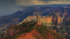 Point Imperial, North Rim Grand Canyon - (Aug 2013) (Malcolm Benn) Tags: mgbenn malcolmbenn northrim grandcanyon 2013 august landscape ejpeikerworkshop canon 1dmiv 1635mm storm