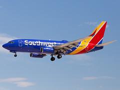 N732SW (ChrischMue) Tags: southwest airlines boeing b7377h4wl las vegas mccarran international klas n732sw
